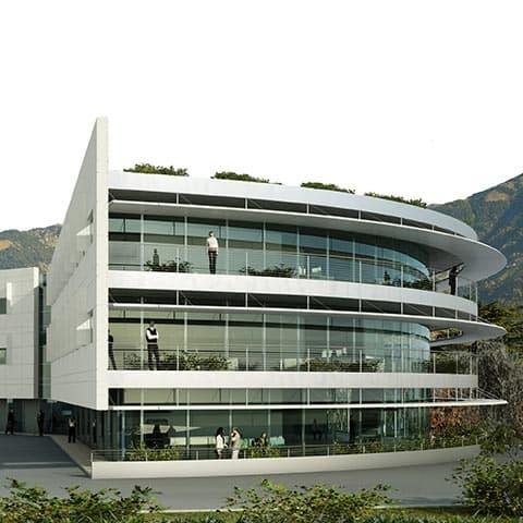 """The astronomy building"" - Dolomiti Energia new headquarters"