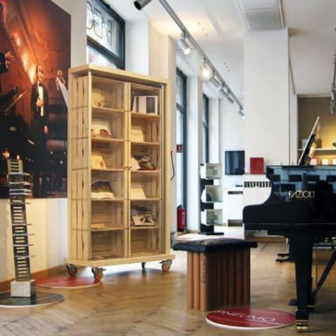 Fazioli pianos showroom