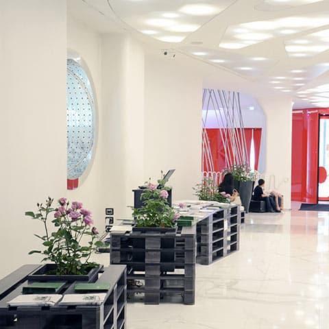 Boscolo Hotel Hall: Il lusso antico delle rose