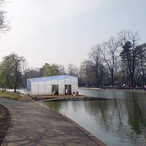 Padiglione open-air