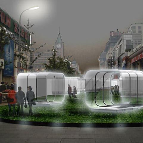 Allestimento della strada Wang Fui Jing