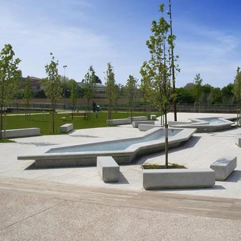 San Serafino public park
