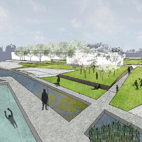 Riqualificazione urbana dell'area Mof - Ex Darsena