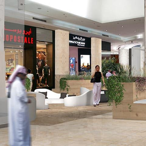 Ezdan Mall interior restyling