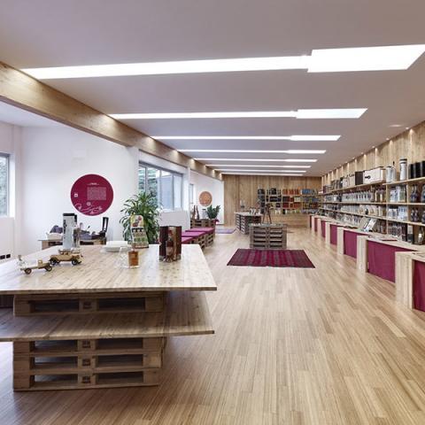 Showroom azienda enologica