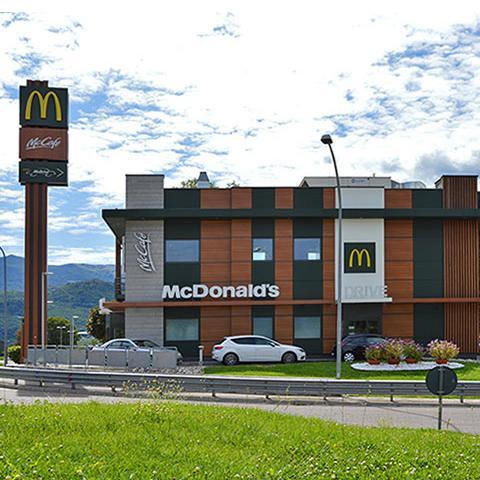 Punto ristoro McDonald's e McDrive