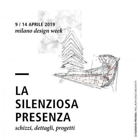 MILANO DESIGN WEEK 2019 - La silenziosa presenza